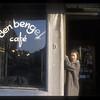 Man at cafe, Antwerp, Belgium.