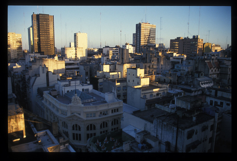 Skyline view of downtown Buenos Aires, Argentina.