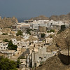 Muscat, Oman and its fort.