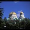 St. Alexander Nevsky Bulgarian Orthodox cathedral, begun in 1882, Sofia, Bulgaria.