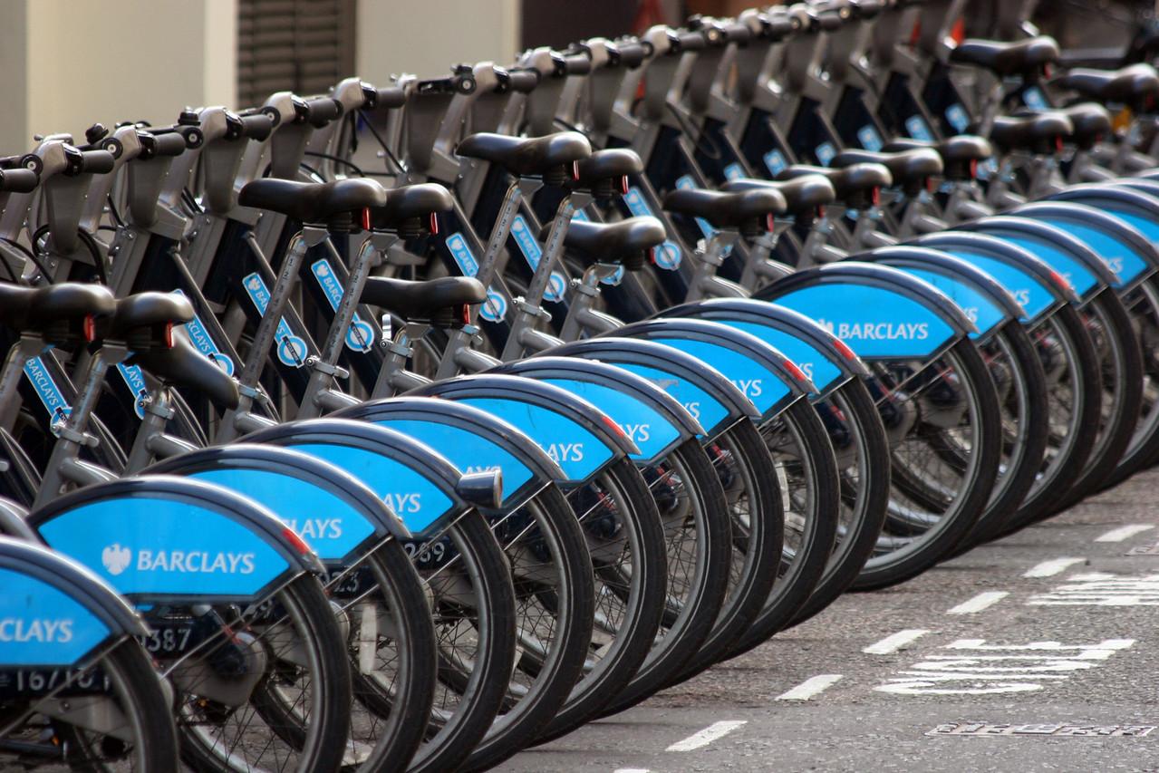 London to a Bike