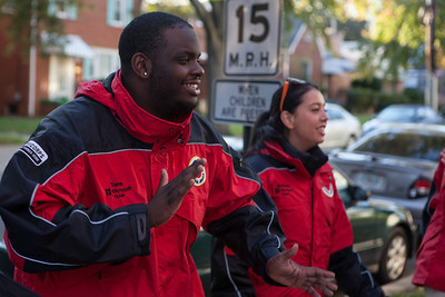 26 October 2013, City Year DC hosts their MADD service day at Kenilworth Elementary School.
