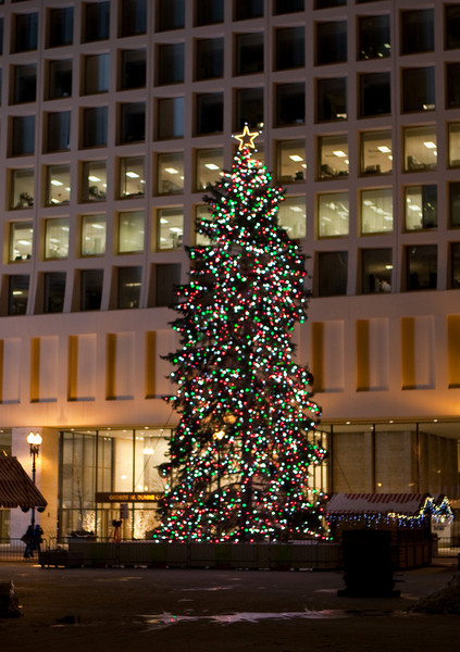 City of Chicago Holiday Display