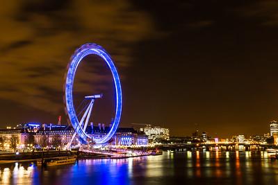 Blue Wheel