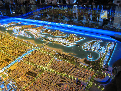 A further shot of Jumeirah Garden City.  It'll take 12 years to build