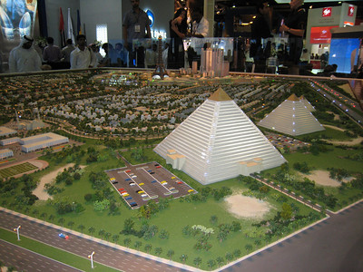 3 pyramids to be constructed in Falcon City.