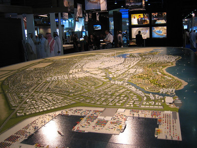 King Abdullah Economic City in Saudi.