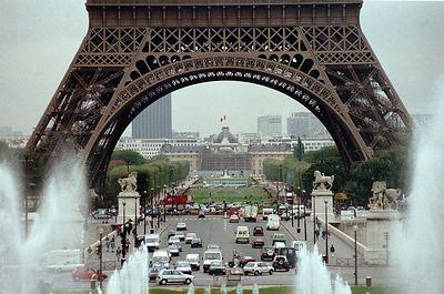 Eiffel Tower - closeup
