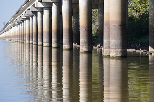 Beneath the I-10 Interstate at Rayne, Louisiana (c)2012 skElliottPhotography