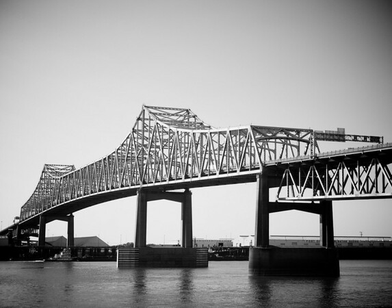 Mississippi River Bridge at Baton Rouge, LA