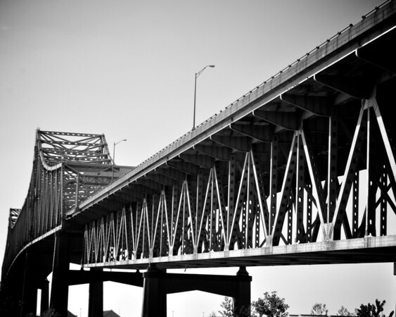 New Mississippi River Bridge at Baton Rouge <br /> (c)2012 skElliottPhotography.com