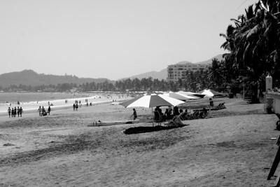 la playa, manzanillo