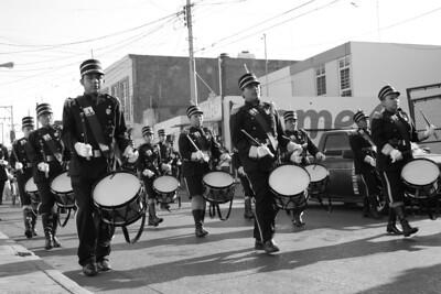 parade for benito juarez day