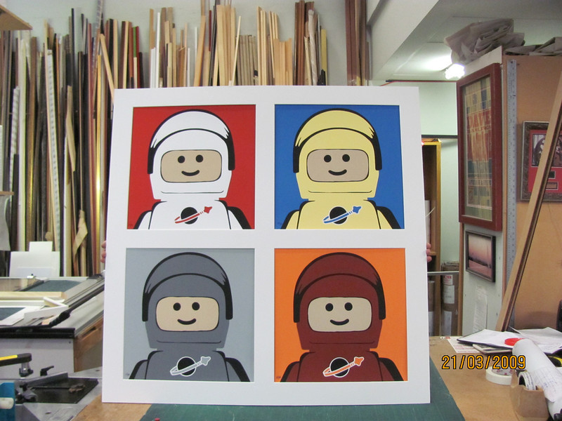 LEGO!!!! for piece stencil print set, limited edition, only 88 pieces worldwide!!
