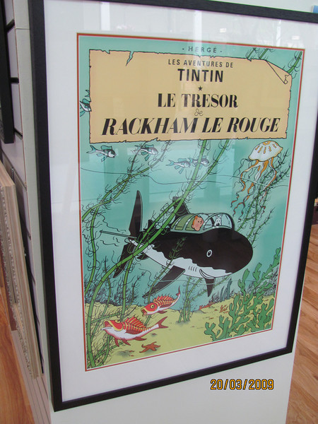 Ever popular Tin Tin cover posters, several titles available.