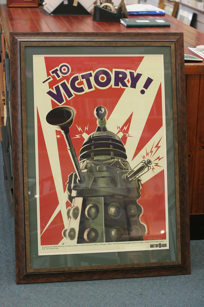 Victory! Poster available from ABC shops, mounting $70, framing starts at $220 for basic black frame with poster mounted and behind glass, to about $450 for the piece as shown in this photo, with army olive border and antique look timber frame.