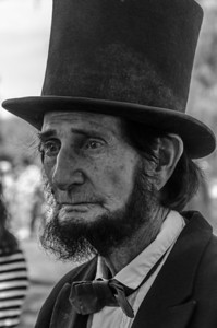 What would a civil war be without Abe Lincoln?