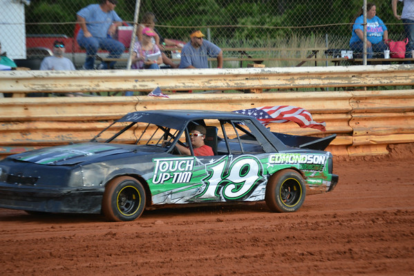 Clarys Speedway July 4th 2014