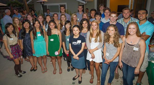 Class of '17 Sendoff Party 08/18/13