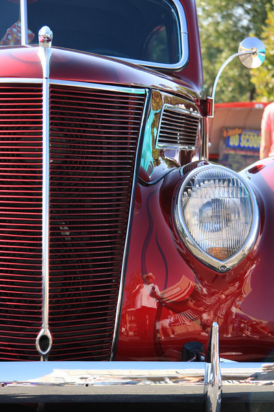 Classic lines_ On display at the Arroyo Valley Car Sho in Arroyo Grande.