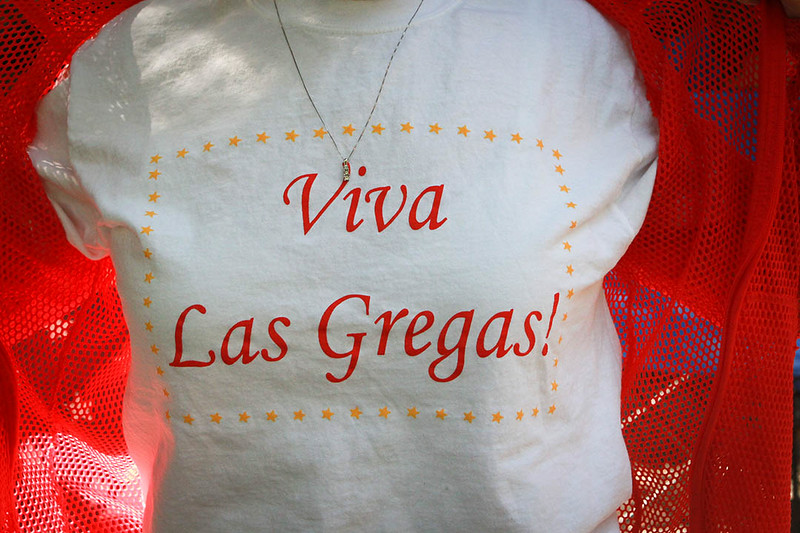 Viva Las Gregas party