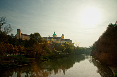 Melk Abbey-river