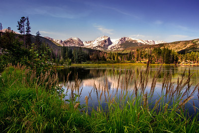 Stillness - Sprague Lake