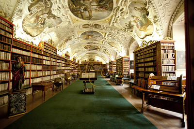 The Strahov Monastery Theological library