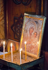 Candles and Mary