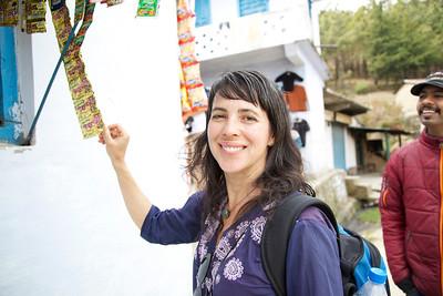 Claudia in India
