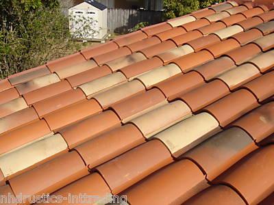 S type Clay Roof Tile Roofing Spanish Mediterranean Rustic Look