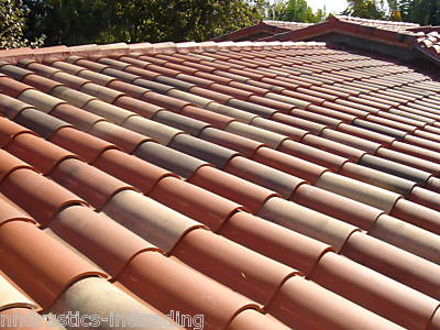 ... Roof Tile Hip Roofing Spanish Terracotta. CCF00762005_00000