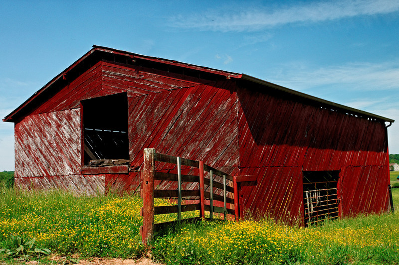 Barn on Settawig Road, Brasstown