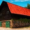 Cow Barn - Campbell Folk School, Brasstown.