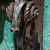 Forged Barn Door Handle - Campbell School
