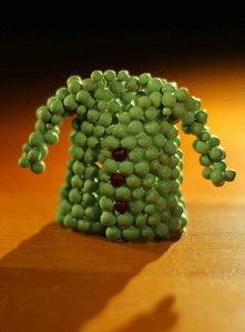 Sweater made of grapes