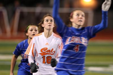 Clayton Valley Girls Soccer vs Cal 2-15-12