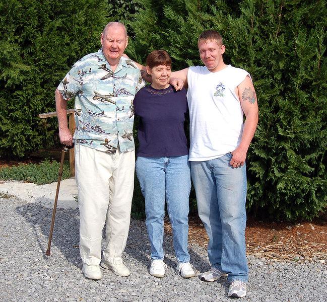 Clem, Mary Ann & Terry