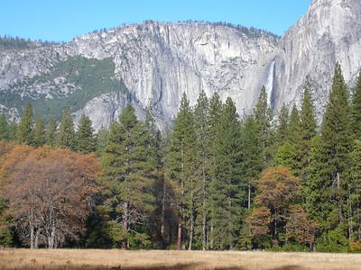 Climbing Yosemite November 2008