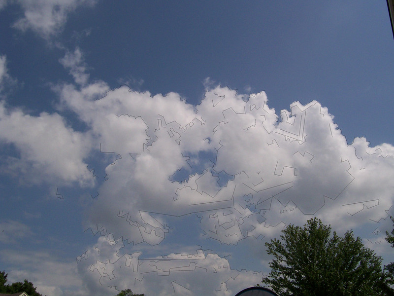 """I drew on the picture in """"Paint"""", following the dark outline of the cloud."""
