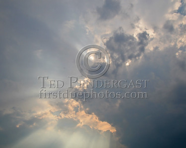 Lots Of Sun Breaking Through - Belmont,Mass. - August 10th,2006
