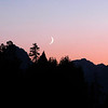 Grand Teton sunset and moonrise