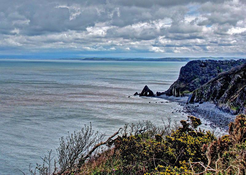 Blackchurch Rock, North Devon.