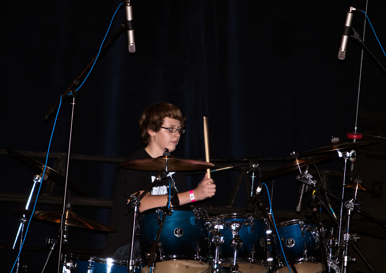 Weston Walker - Drums.
