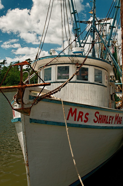 Mrs. Shirley Mae - McClellanville Harbor
