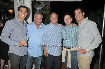 Alon Alexander, Neal Sroka, Joe Jurist, Mike Lorber, Oren Alexander photo by Rob Rich © 2009 robwayne1@aol.com 516-676-3939