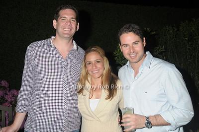 Kirk Roberts, Samantha Roberts, Danny Turkewitz photo by Rob Rich © 2009 robwayne1@aol.com 516-676-3939