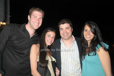 Daniel Kessler, Tiffany Nazarian, Michael Sarlanis, Rosa Sarlanis photo by Rob Rich © 2009 robwayne1@aol.com 516-676-3939