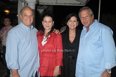 Joe Jurist, Lynda Jurist, Debby Sroka, Neal Sroka photo by Rob Rich © 2009 robwayne1@aol.com 516-676-3939