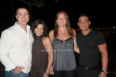 Charlie Savnik, Jennifer Savnik, Shannon Mazza, Greg Mazza photo by Rob Rich © 2009 robwayne1@aol.com 516-676-3939